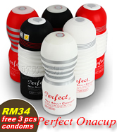 Buy 1 Perfect Onacup, free 3pcs ProTex Condoms
