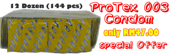 Protex Condom 1 Gross only RM47.00