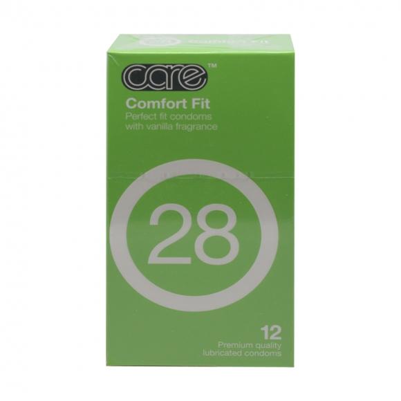 Care 28 Comfort Fit Condom / Kondom - 12's