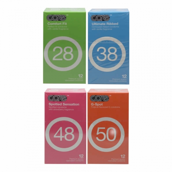 5 in 1 12 pcs Care 28,38,48,50,66 Combo Set - 60's