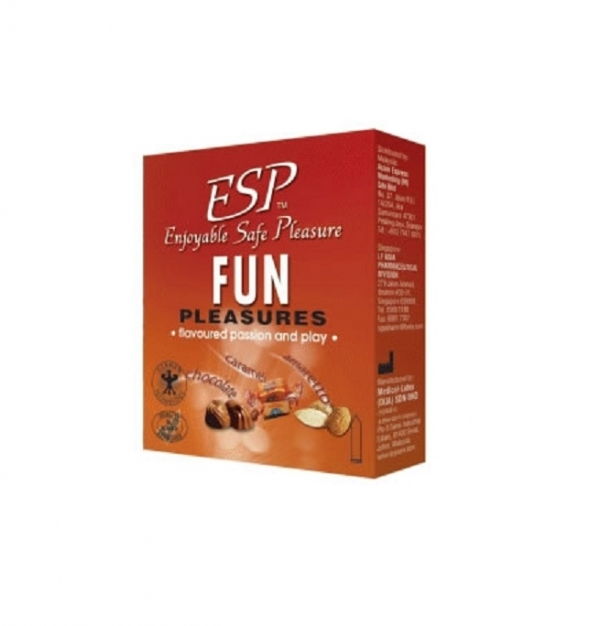 ESP (Enjoyable Safe Pleasure) Condom - Fun Pleasures 3pcs