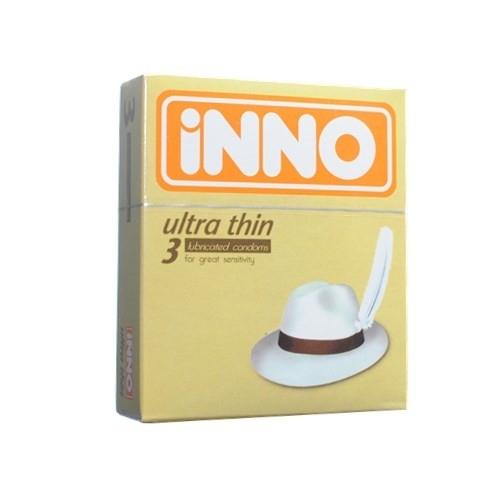 iNNO Ultra Thin Condom / Kondom  (For Great Sensitivity) 3 pcs