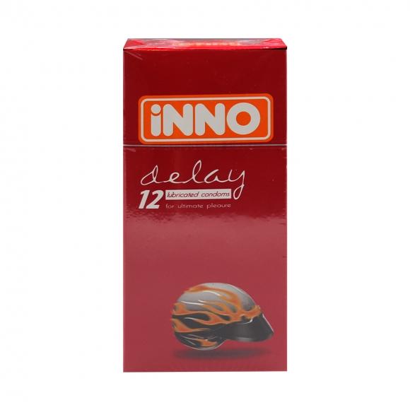 iNNO Delay Condoms (Long Lasting / Long Shock / Tahan Lama) 12's