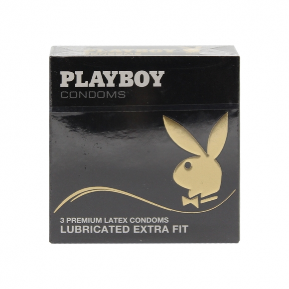 Playboy Extra Fit Condoms 3 Pack