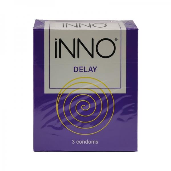 iNNO Delay Condoms (Long Lasting / Long Shock / Tahan Lama) 3's