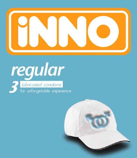 iNNO Regular Condom / Kondom (For Unforgettable Experience ) 3 pcs