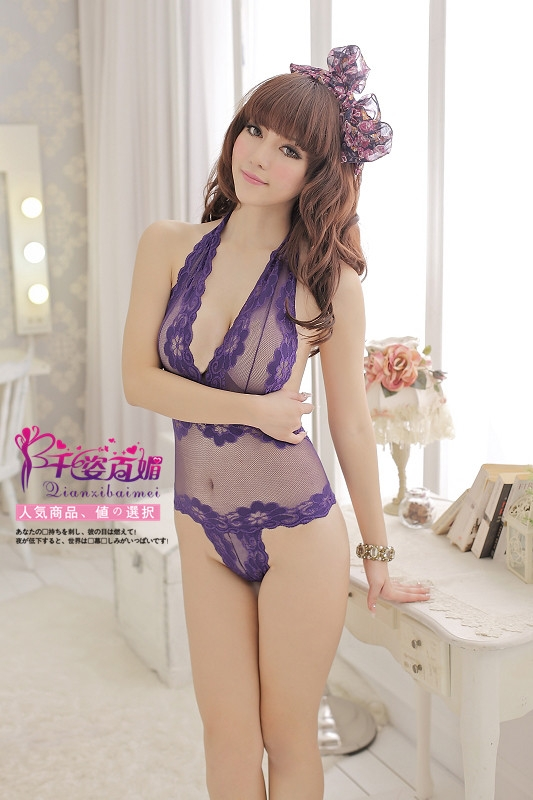 Sexy Lingerie Corset - Purple color