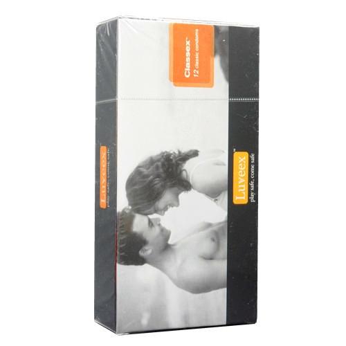 Luveex Classex classic condoms 12's