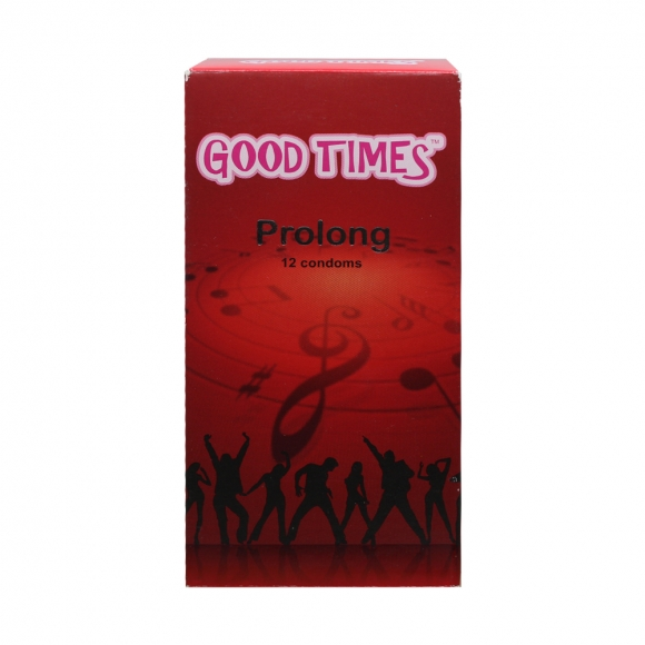Good Times Prolong condom - 12's