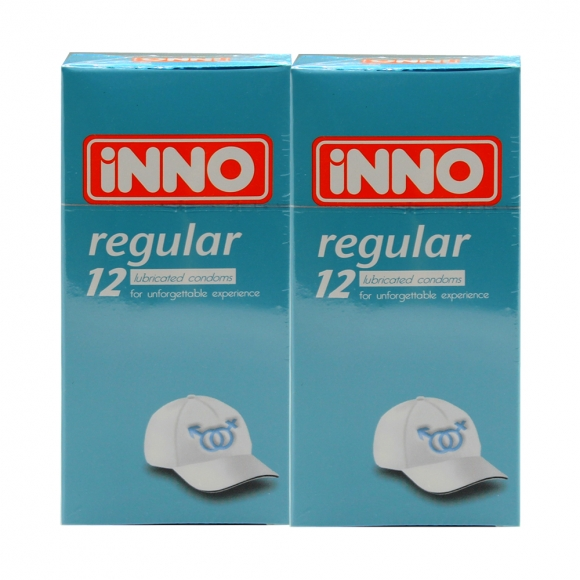 2 Boxes iNNO Regular Condom 12's (For Unforgettable Experience )