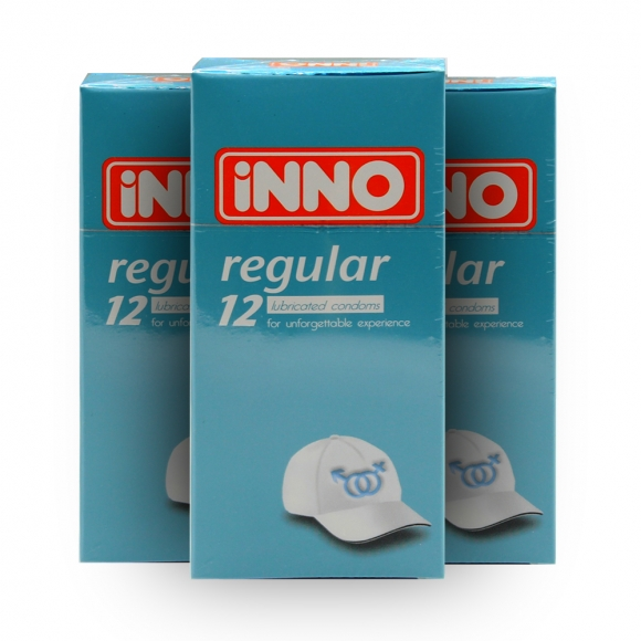 3 Boxes iNNO Regular Condom 12's (For Unforgettable Experience )