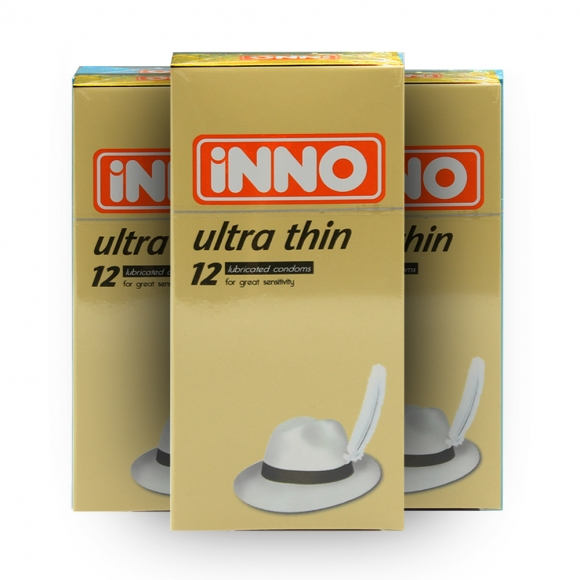 3 Boxes iNNO Ultra Thin Condom / Kondom 12 pcs (For Great Sensitivity)