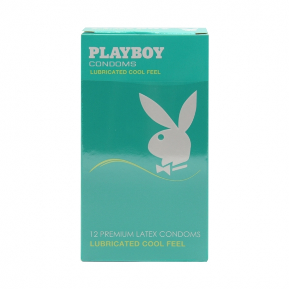 Playboy Lubricated Cool Feels Condom / Kondom - 12pcs