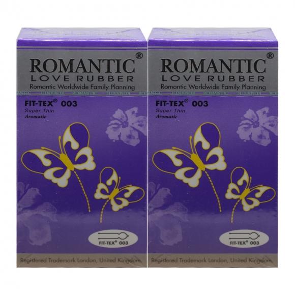2 Boxes Romantic Love Rubber Fit Tex 003 - 12's