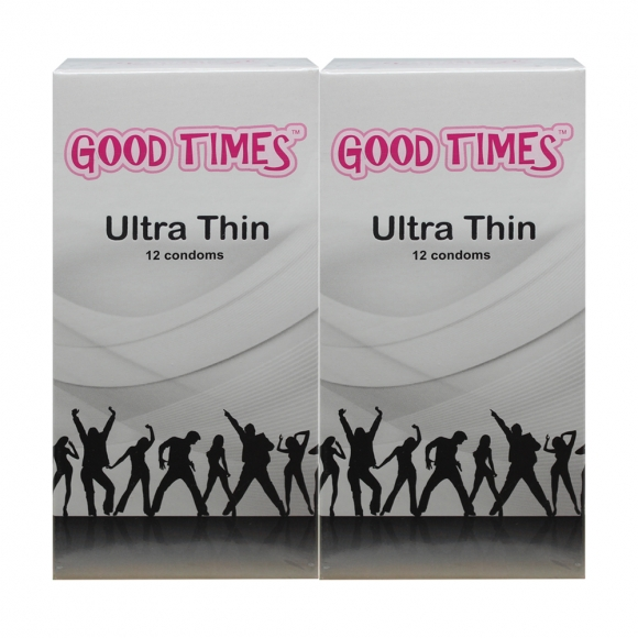 2 Boxes Good Times Ultra Thin condom - 12's