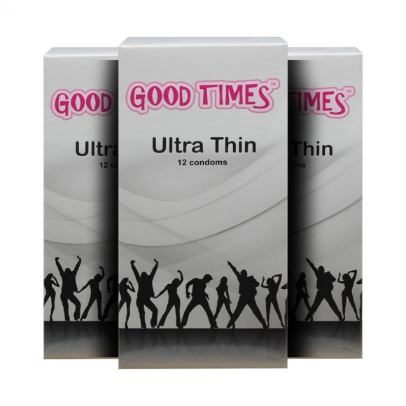 3 Boxes Good Times Ultra Thin condom - 12's