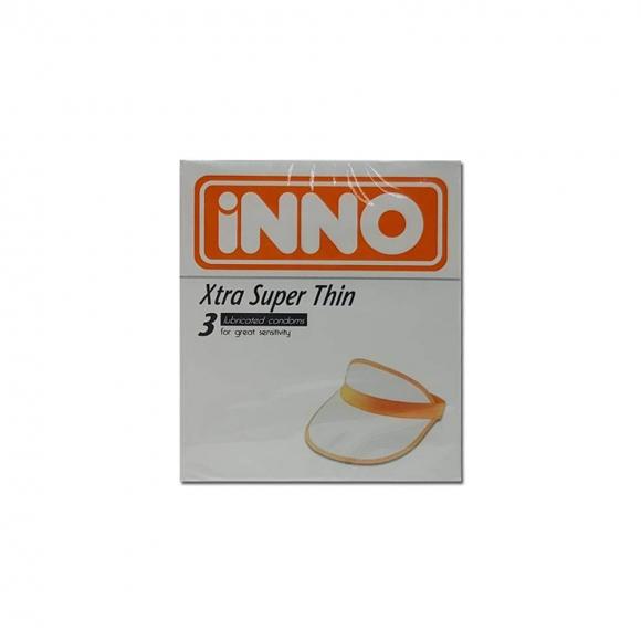 iNNO Xtra Super Thin Condom / Kondom (for great sensitivity) 3pcs