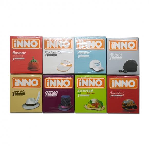 iNNO 8 in 1 Combo Set Condom - 24 pcs
