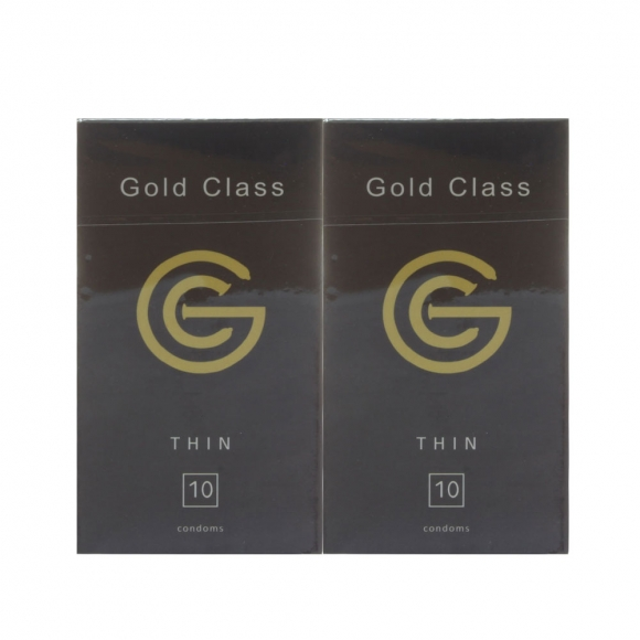 2 boxes Gold Class Ultra Thin Condom - 10pcs