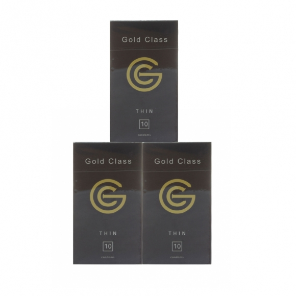 3 boxes Gold Class Ultra Thin Condom - 10pcs