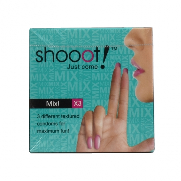 SHOOOT MIX! Condom / Kondom 3's