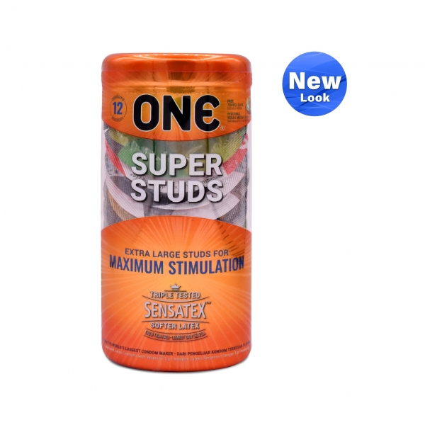 ONE Condom - Super Studs 12-pack (Free One Vibe)
