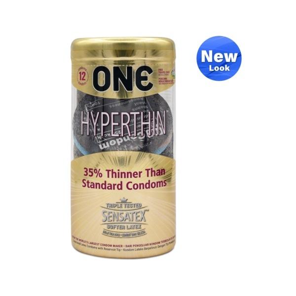 ONE Condom - Hyperthin 12-Pack (Free One Vibe)