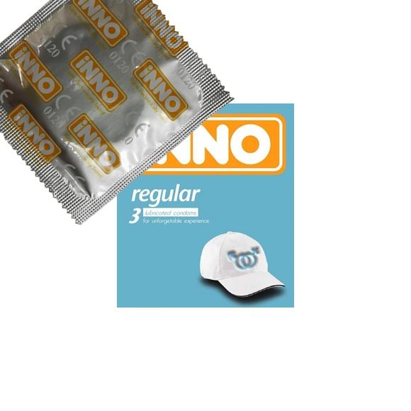 iNNO Regular Condom / Kondom - 1 piece