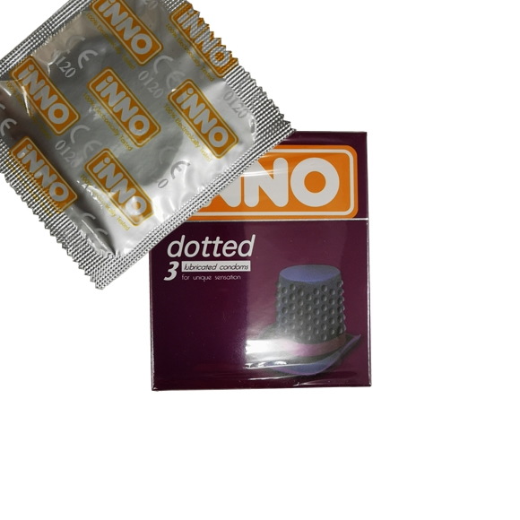 iNNO Dotted Condom / Kondom - 1 piece