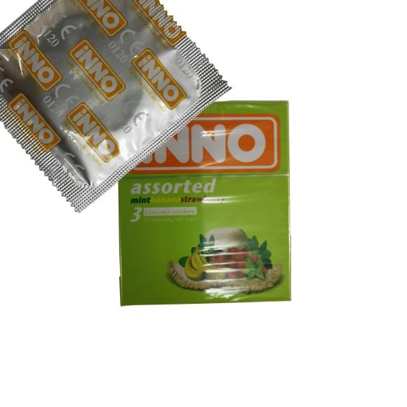iNNO Assorted Condom / Kondom - 1 piece