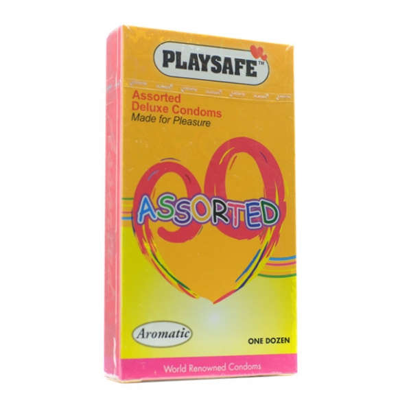 PLAYSAFE ASSORTED COLOURED - 12's
