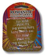 Romantic Love Rubber Long Shock Gel