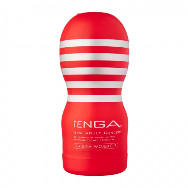 Red TENGA - Deep Throat Cup