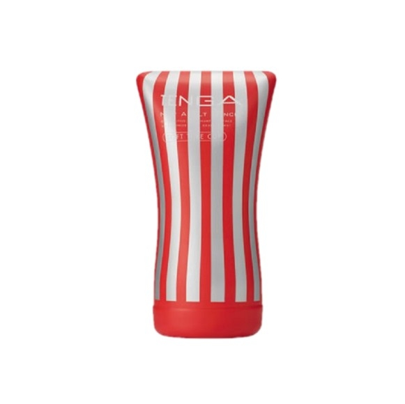 Red TENGA - Soft Tube Cup