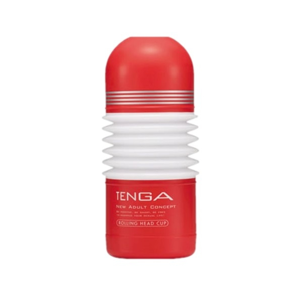 Red TENGA - Rolling Head Cup