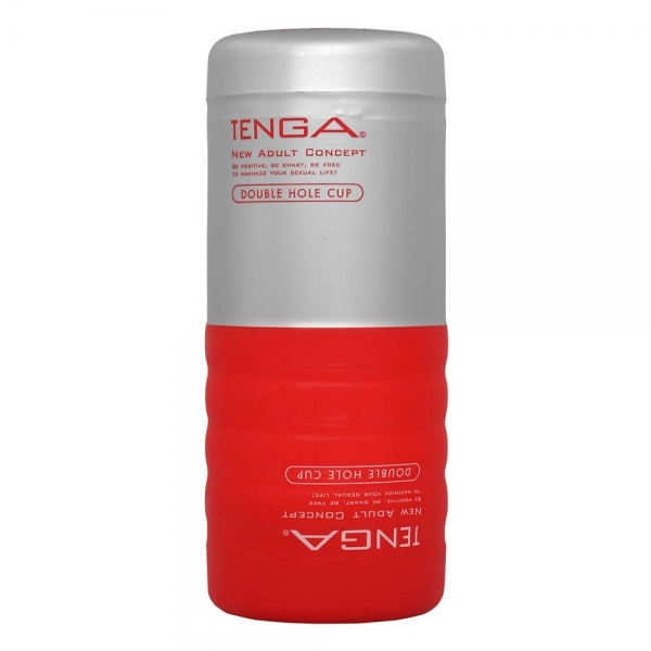 Red TENGA - Double Hole Cup