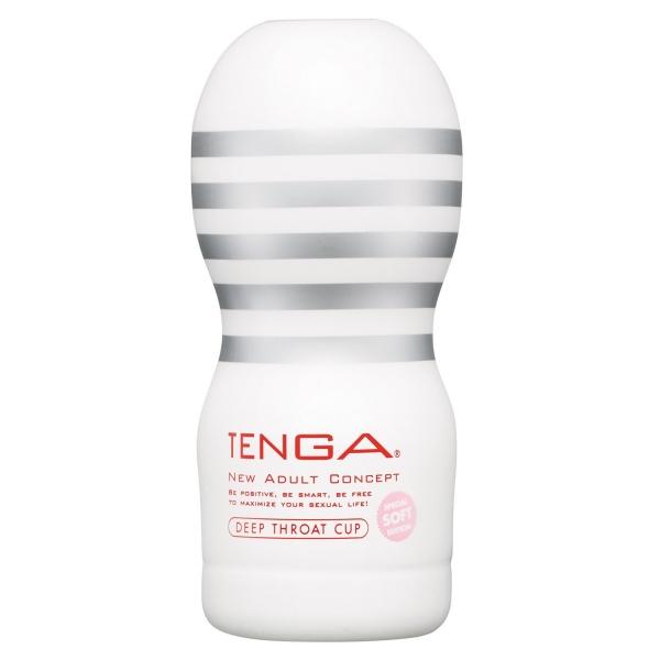White TENGA - Deep Throat Cup