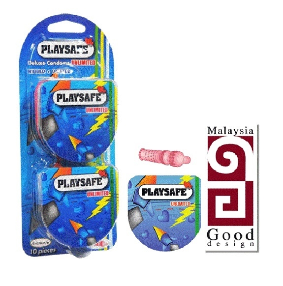 Playsafe Easy Pack Dotted & Ribber