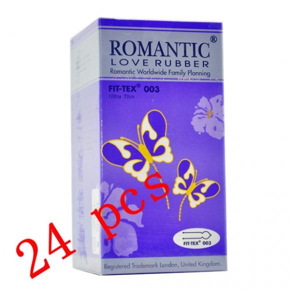 Romantic Love Rubber Fit Tex 003 - 24's