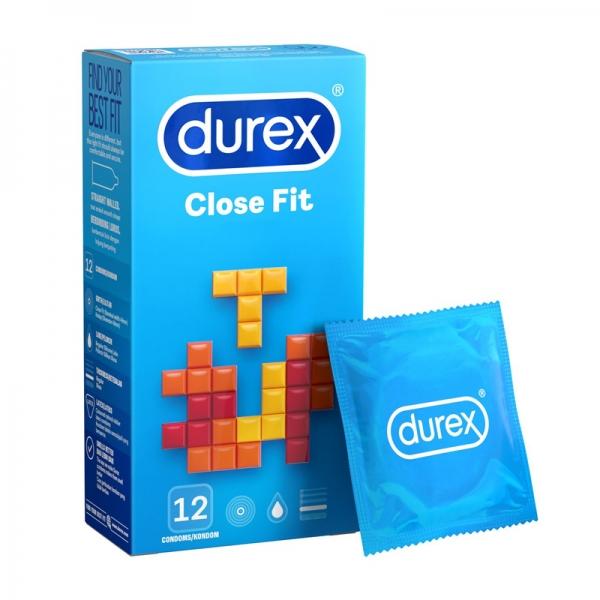 Durex Close Fit Condom 12's