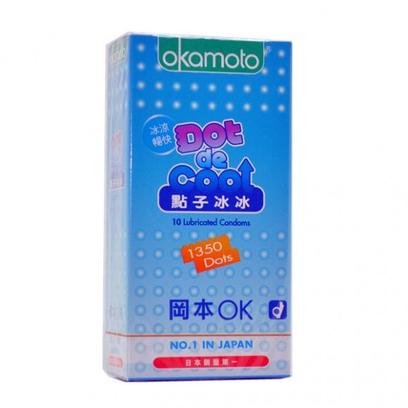 OKAMOTO DOT DE COOL CONDOM 10'S PACK