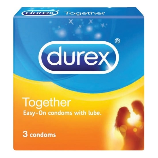 Durex Together Easy-On Condom 3's