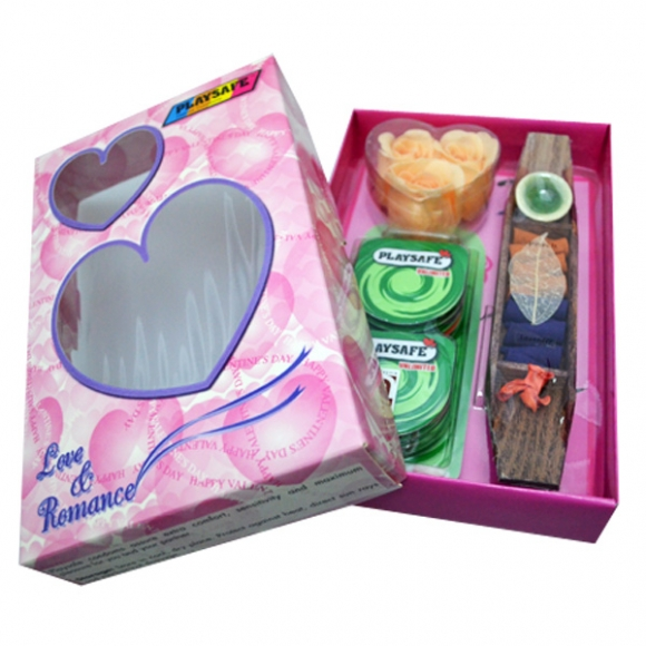 Playsafe Love and Romance Valentines Gift Set