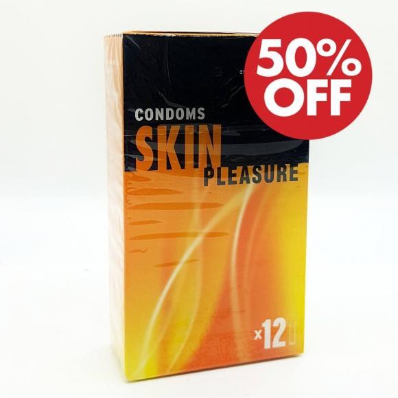 ESP (Enjoyable Safe Pleasure) Condom - Skin Pleasures 12pcs