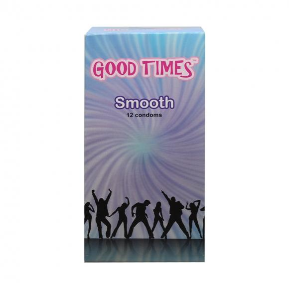 Good Times Smooth condom - 12's