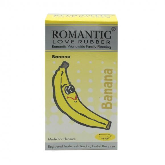 Romantic Love Rubber Aroma - Banana- 12's