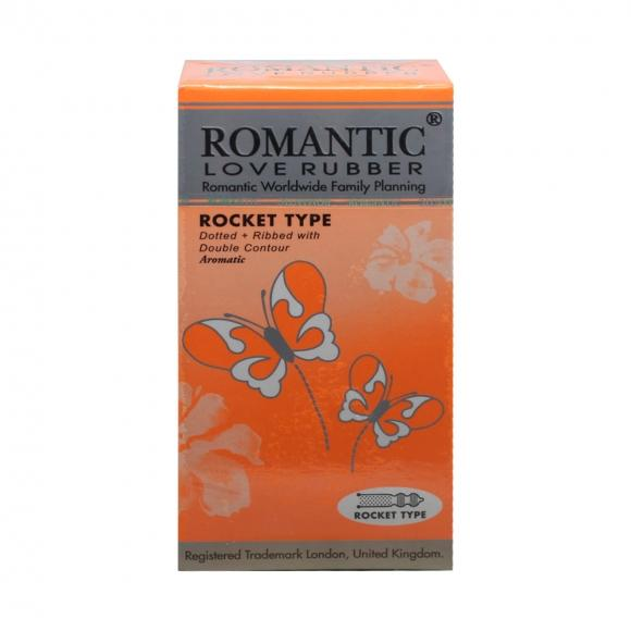 Romantic Love Rubber Rocket Type - 12's