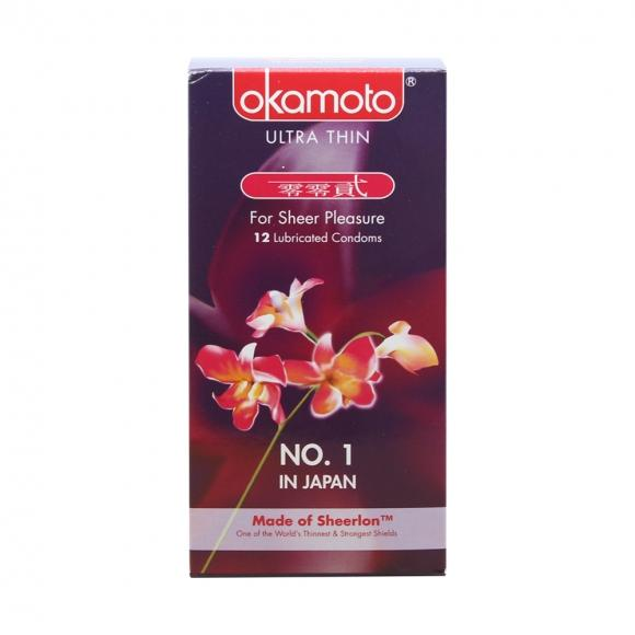 OKAMOTO ORCHID CONDOM 12's