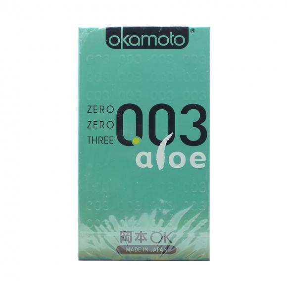 OKAMOTO 003 ALOE CONDOM 6'S PACK