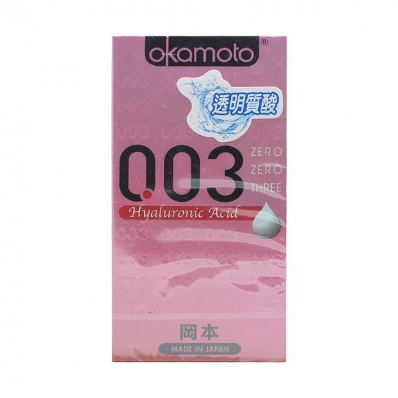 OKAMOTO 003 HYALURONIC-ACID CONDOM 6'S PACK